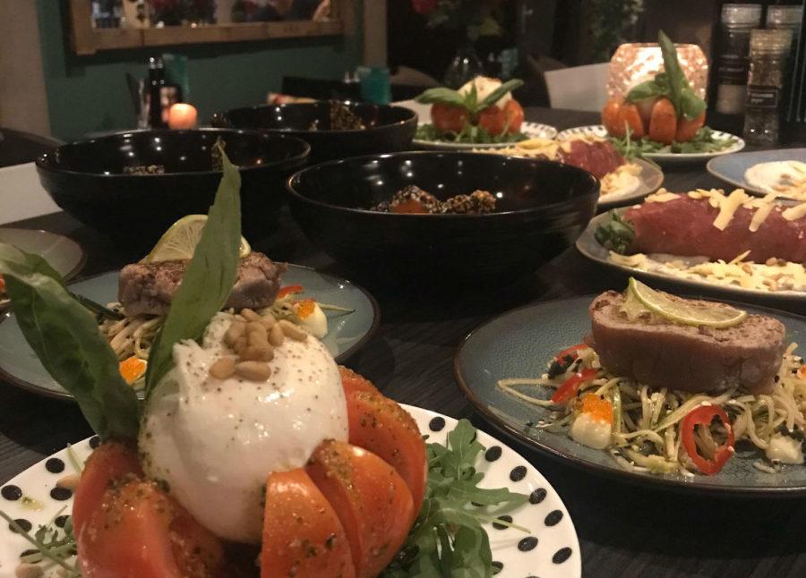 Gezond uit eten door shared dining